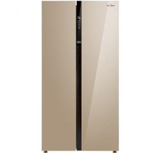 Midea 美的 BCD-621WKPZM(E) 621L 对开门冰箱 3099元包邮(需用券,49元定金)