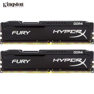 金士顿(Kingston)DDR4240016GB(8G×2)套装台式机内存骇客神条Fury雷电系列 549元