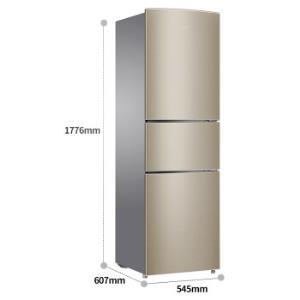 Ronshen容声BCD-221WD12NY221升风冷三门冰箱1698元