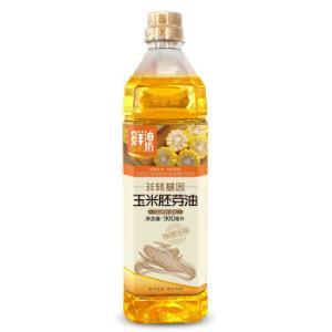 KINGSHARE 金胜 鲜油坊玉米胚芽油 900ml 6.45元