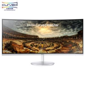 三星(SAMSUNG)34英寸1500R曲率100Hz量子点WQHD高分辨率爱眼HDMI/DP接口可升降电脑显示器C34F791WQC4999元