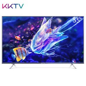 kktvU55MAX康佳55英寸4k超清液晶智能网络平板电视机wifi601599元