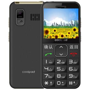 Coolpad酷派S588非智能手机老人手机儒雅黑 65元
