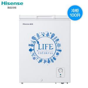 海信BD/BC-100N/A冰柜家用小型冷藏冷冻柜卧式迷你保鲜节能两用 549元