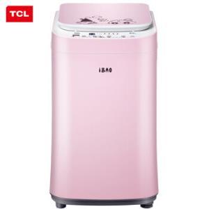 TCL 3公斤 全自动母婴迷你波轮洗衣机 婴儿洗 宝宝儿童小洗衣机 内衣洗iBAO-30婴儿粉 699元
