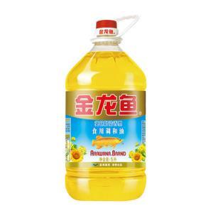 金龙鱼葵花籽清香型食用调和油5L39.8元