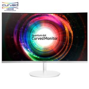 三星31.5英寸2K/QHD高分1800R曲率量子点技术爱眼HDMI/DP全高清接口电脑显示器C32H711QEC2699元