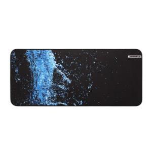 镭拓(Rantopad)H5+电竞游戏桌垫锁边鼠标垫 超大键盘垫 加厚版-湖水蓝 16.9元