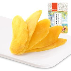 良品铺子 菲律宾芒果干散装 水果干 蜜饯零食48g *10件 79元(合7.9元/件)