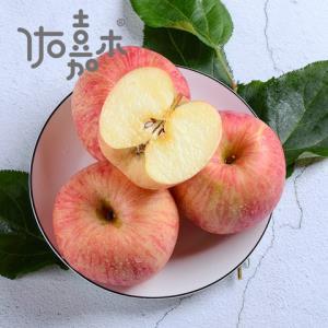 出口栖霞红富士苹果 果径80-85 特级果 带箱3kg31.3元