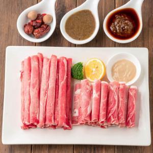大牧汗 牛羊肉火锅套餐(辣汤)羔羊肉片220g 精制肥牛片220g 大骨辣汤140g28.8元