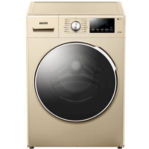 SANYO 三洋 WF100BI576SJ 10公斤 变频滚筒洗衣机1999元包邮