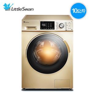 LittleSwan小天鹅TD100V81WDG变频滚筒洗烘干一体机10公斤 2899元