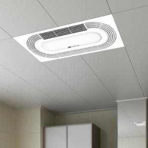 装修党:nvc-lighting雷士照明集成吊顶嵌入式风暖浴霸 619元包邮