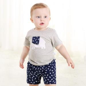 ciciibear齐齐熊婴幼儿纯棉短袖套装 40.5元