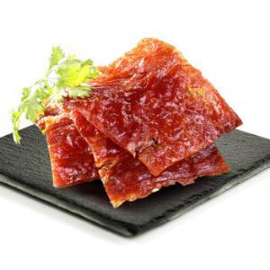 良品铺子风味猪肉脯自然片100g*7件    72.3元(合10.33元/件)