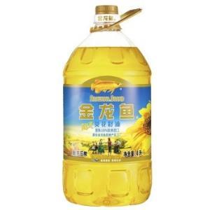 金龙鱼阳光葵花籽油4L物理压榨食用油充氮保鲜少油烟新老包装随机发货*3件129.69元(合43.23元/件)