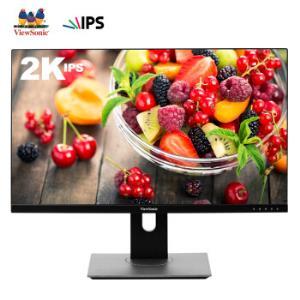 ViewSonic 优派 VX2780-2K-HD-2 27英寸显示器(2K、IPS、110%sRGB) 1499元