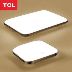 TCL照明led卧室吸顶灯酷雅系列灯大客厅调光带遥控64瓦82*65cm适18-25平 399元