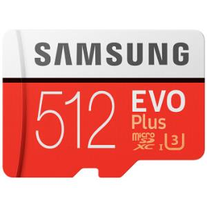 SAMSUNG三星EVOPlus升级版+MicroSD卡512GB