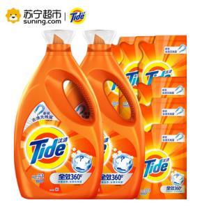 Tide汰渍全效360度洗衣液(洁雅百合)18斤79.9元(需用券)