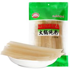 味美发东北大拉皮260g火锅炖粉土豆宽粉配菜炖菜粉条*16件 57.2元(需用券,合3.58元/件)