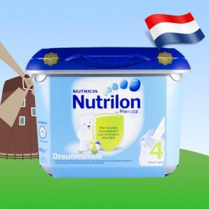 Nutrilon 诺优能 4段幼儿配方奶粉 安心罐 800g *3件321.08元(合107.03元/件)