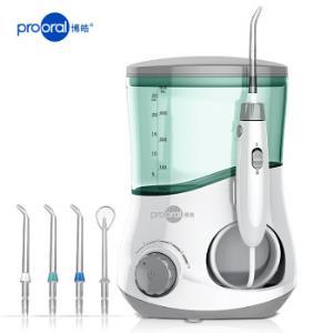博皓(prooral)冲牙器/洗牙器/水牙线/洁牙器非电动牙刷家用台式5102象牙白 177元