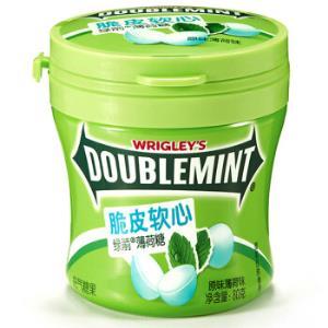 绿箭脆皮软心薄荷糖原味薄荷味80g*23件 142.4元(合6.19元/件)