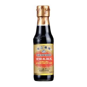 珠江桥金标生抽王酱油150ml 2.99元