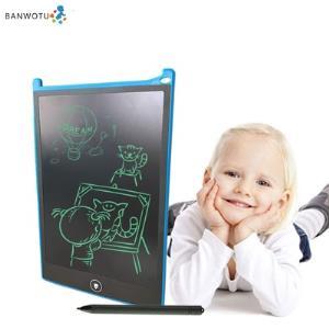 儿童液晶手写板非磁性笔画板家用涂鸦板绘画写字板无尘电子小黑板 券后29元