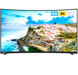 TOSHIBA东芝65U6780C65英寸4K曲面液晶电视3699元