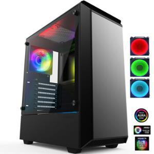 PHANTEKSP300钢化玻璃RGB豪华版机箱 249元