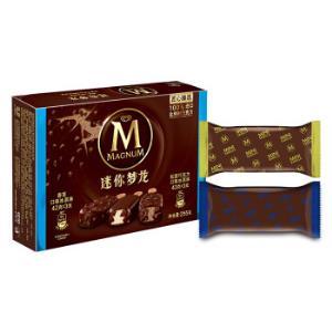 和路雪迷你梦龙香草口味+松露巧克力口味雪糕6支255g 19.4元