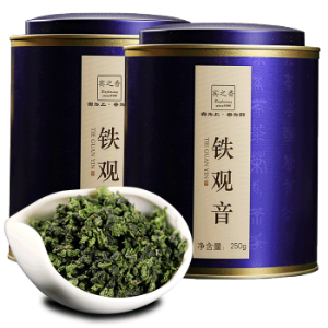 宾之香 2019新茶 安溪铁观音乌龙茶叶1725兰花香浓香型罐装礼盒500g230元