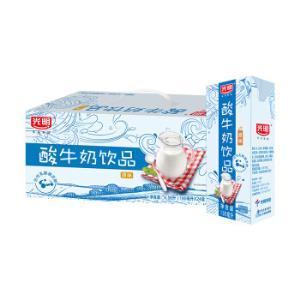 光明酸奶酸牛奶饮品(原味)190ml*24盒中华老字号*3件 101.74元(合33.91元/件)