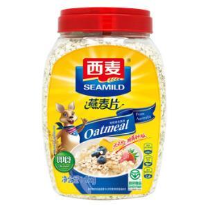 SEAMILD 西麦 冲饮谷物 即食燕麦片 1000g *7件 140.64元(合20.09元/件)