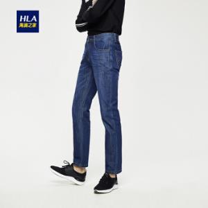 HLA 海澜之家 HKNAD1E071A 男士牛仔裤 牛仔蓝 32 158元