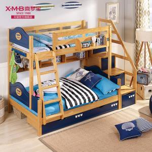 喜梦宝 儿童上下床 实木床双层床 松木高低床子母床儿童床 2749元