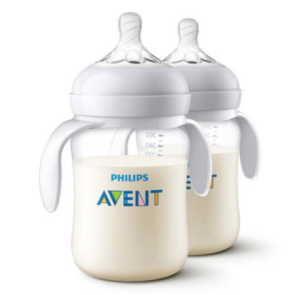 AVENT新安怡SCF474/28婴儿PA奶瓶260ml2个装*2件+凑单品 66.8元(合33.4元/件)