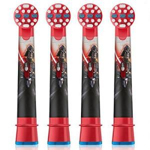 BRAUN博朗DB4510K,D10,D12儿童电动牙刷头4支装 95.92元