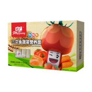 FangGuang方广儿童营养面条三文鱼蔬菜味300g*7件    45元(合6.43元/件)