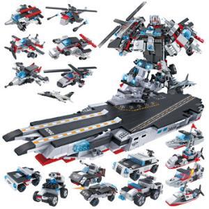COGO积高积木军事系列13020新8合1航母战斗群模型*3件 127元(合42.33元/件)