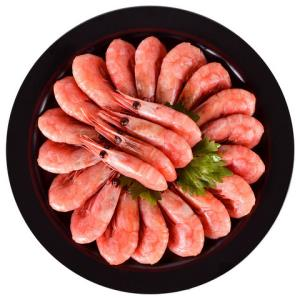Sirena 原装进口熟冻加拿大北极虾 腹籽率75%-80% 1kg *2件94.9元包邮(双重优惠)