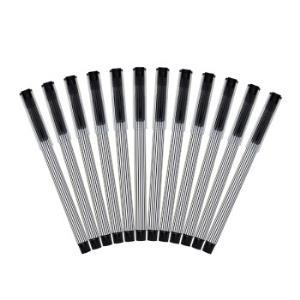 晨光(M&G)速干0.5mm黑色子弹头中性笔签字笔水笔 12支/盒AGPB1001 *6件 67元(合11.17元/件)