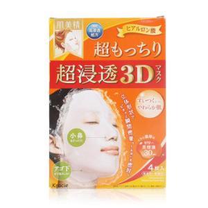 Kracie立体3D高浸透玻尿酸保湿服帖面膜橙色4片*3件 102元(合34元/件)