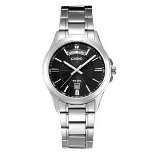 卡西欧(CASIO)手表时尚商务钢带黑盘男表MTP-1381D-1AVDF299元