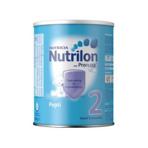 荷兰牛栏诺优能Nutrilon深度水解婴幼儿奶粉Pepti2段(6-12个月)800g296元