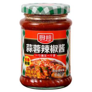 厨邦蒜蓉辣椒酱 调料拌面下饭拌饭调味酱210g5.9元