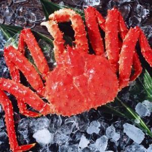大口鲜 智利熟冻帝王蟹1.0-1.2Kg 大螃蟹 海鲜水产249元(需用券)